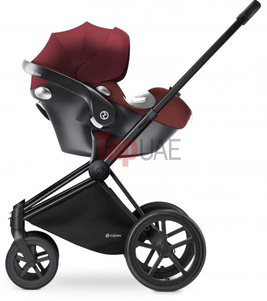 Cybex 516105021 Aton Q Plus Car Seat Mars Red