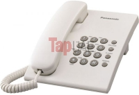 Panasonic KX-TS500 Integrated Corded Telephone, White
