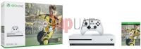 Xbox One S 500GB - White, 1 Wireless Controller with Fifa 17 and 1 Month EA Access